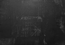 Witold Winek_black_matter_druk wypukły_monotypia_2017_70x100_unikat_1600x1120