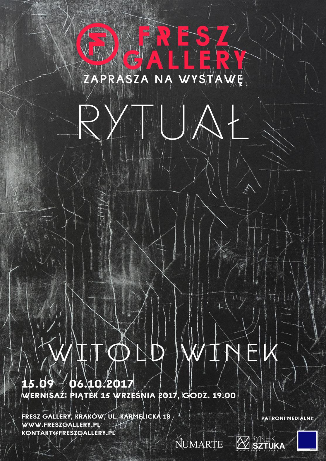 WitoldWinek_RYTUAL_plakat