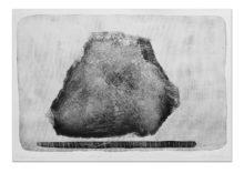 Witold Winek_anti-gravity_druk wypukły, monotypia_2016_70x100cm cena 1100
